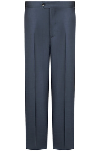 Navy Sharkskin Premium Trousers
