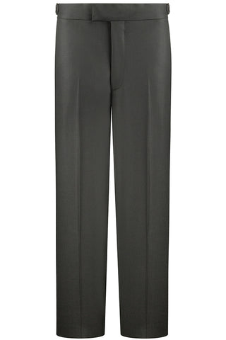 Black Twill Luxury Trousers