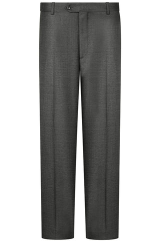 Charcoal Sharkskin Premium Trousers