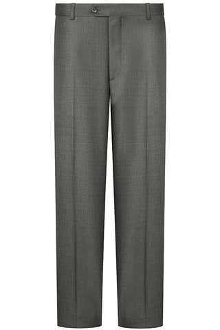 Mid Grey Twill Luxury Trousers