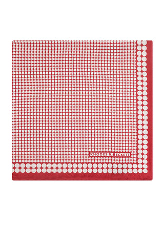 Red Polka Dot Motif