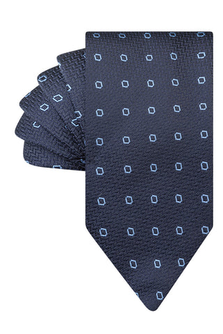 Navy Houndstooth with Cielo Diamond