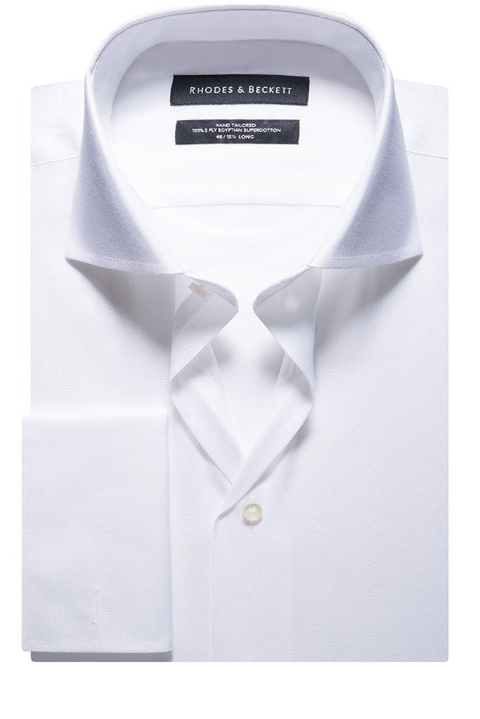 White Fancy Oxford
