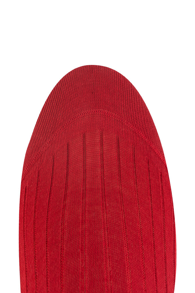 Primary Red Ribbed