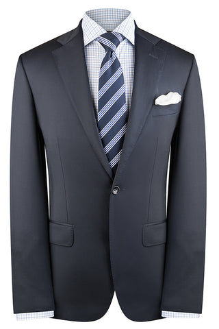 Navy Twill Suit