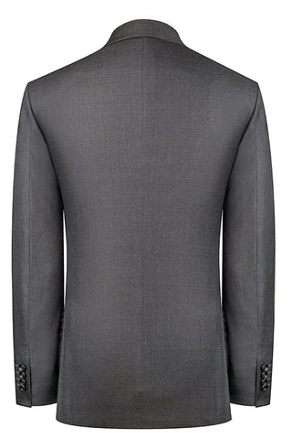 Mid Grey Sharkskin Suit