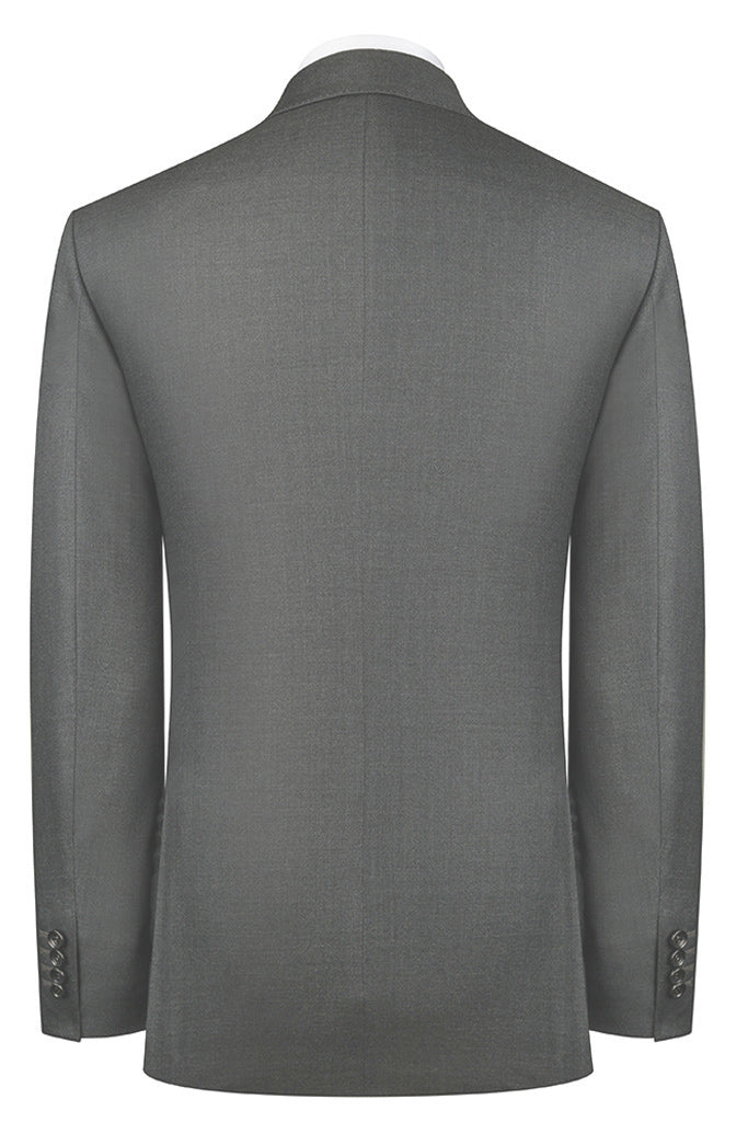 Charcoal Sharkskin Suit