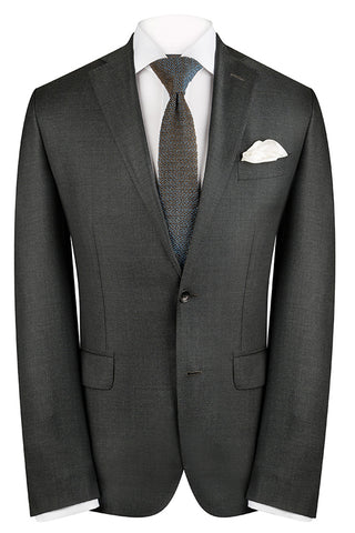 Charcoal Sharkskin Premium Jacket