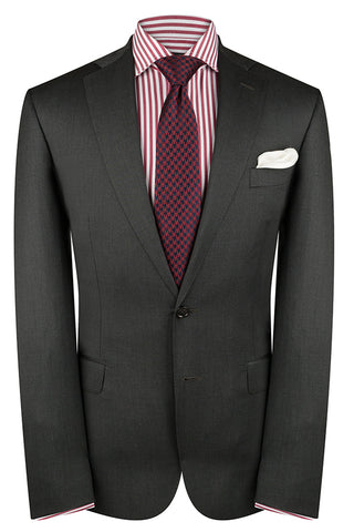Loro Piana Charcoal Twill  Luxury Jacket