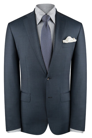 Navy Pindot Suit