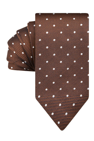 Cognac Textured Dot