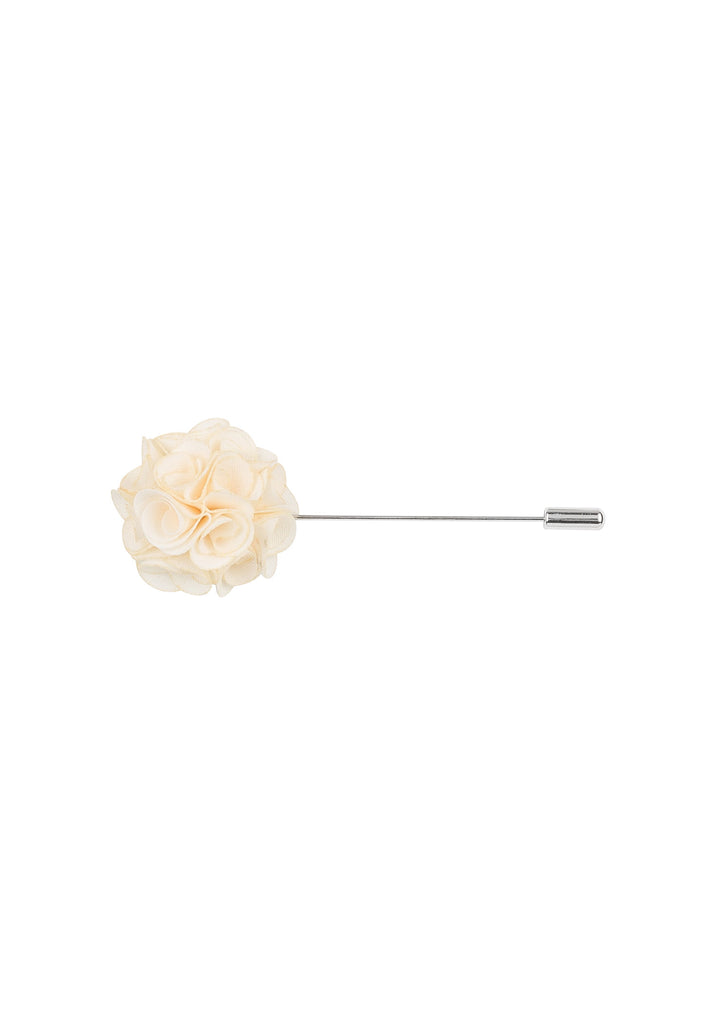 White flower lapel pin mightylinksfo