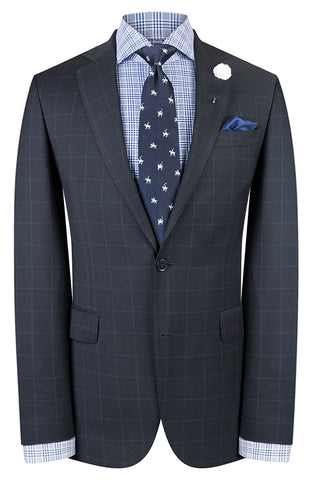 Navy Overcheck Suit
