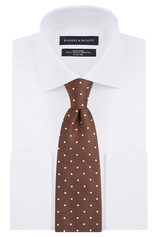 Atlante and Platino Houndstooth Tie