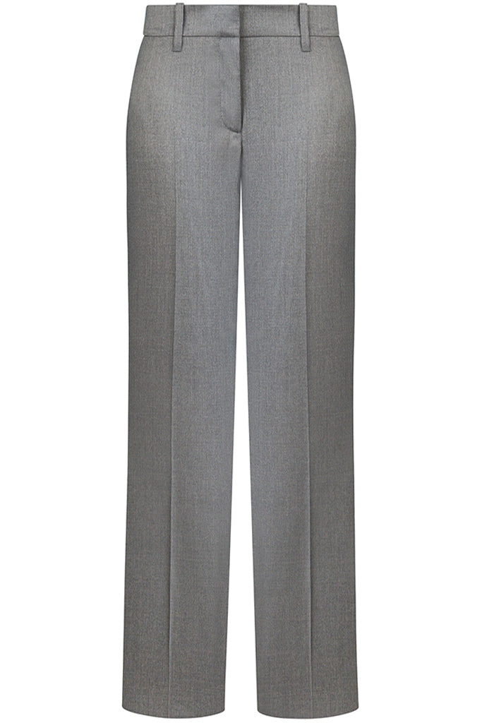 Loro Piana Mid Grey Luxury Twill Pants