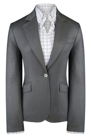 Loro Piana Mid Grey Luxury Twill Jacket