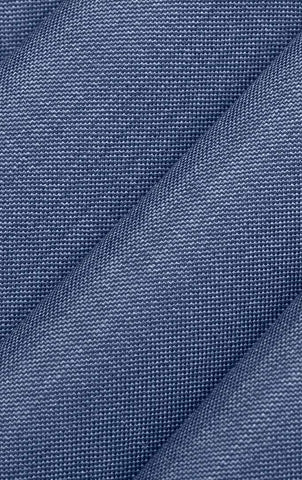 Denim Sharkskin Suit