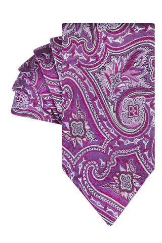 Purple Ombre Paisley