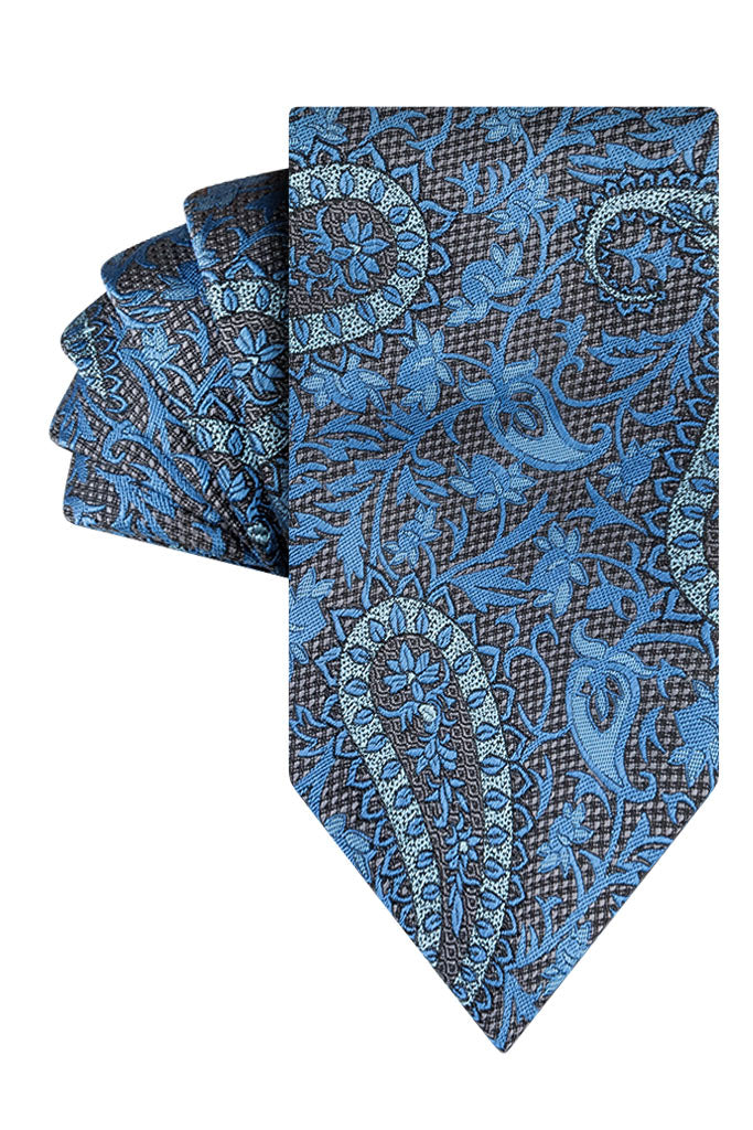 Blue Luxe Paisley