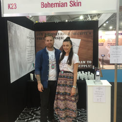 PBC EXPO- what an amazing weekend for Bohemian Skin 100% natural skincare.