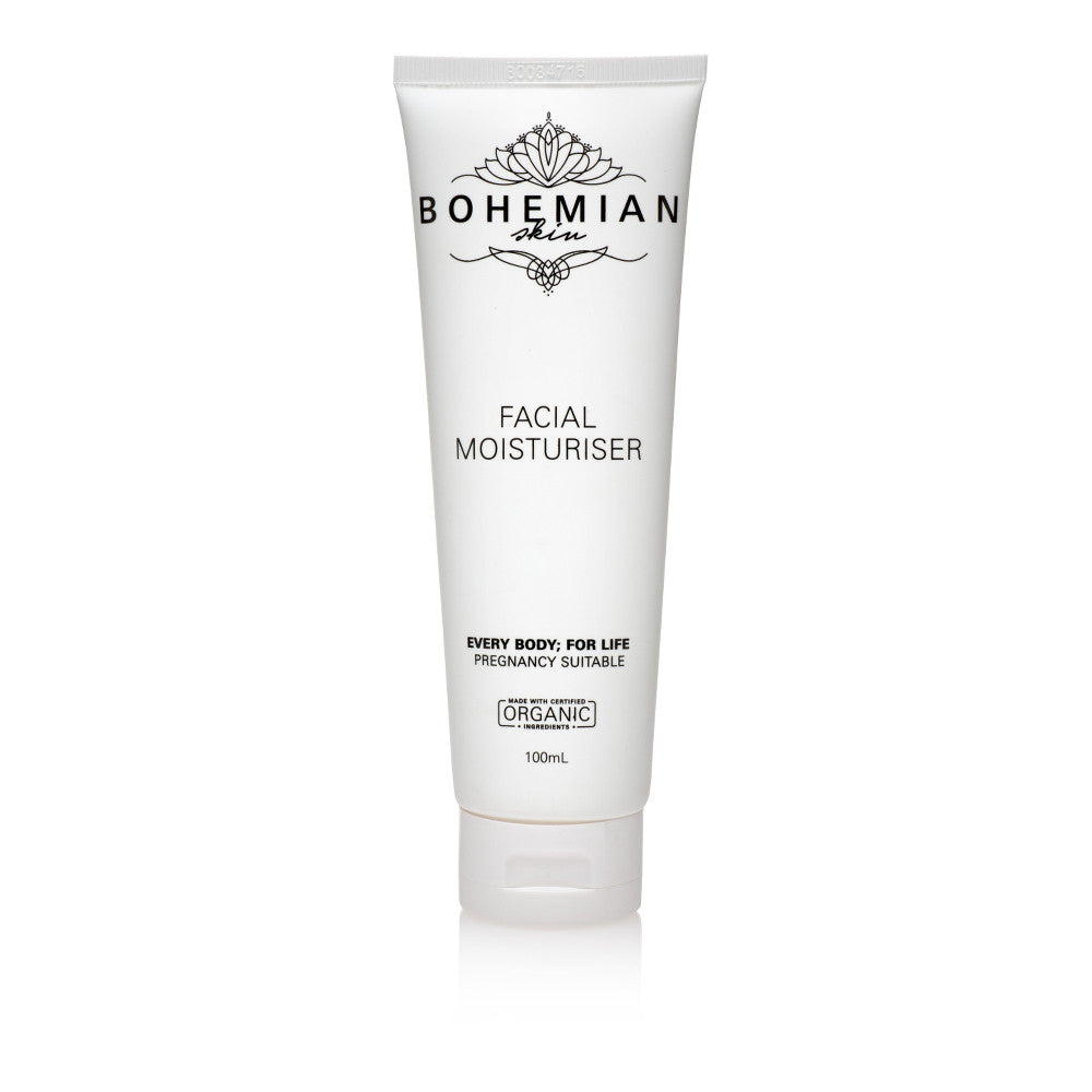 Bohemian Natural Skin Facial Moisturiser 100ml