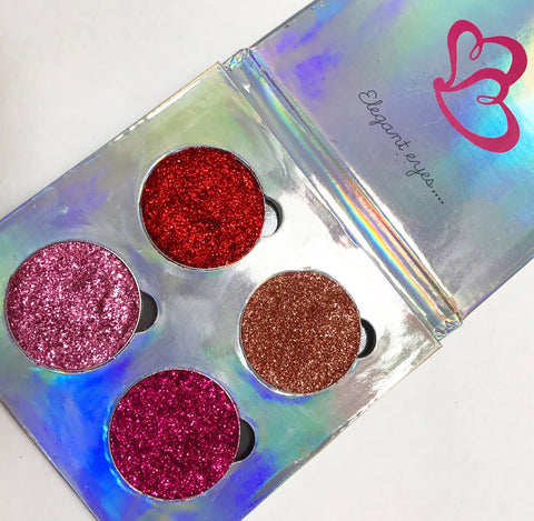 Endless love glitter quad