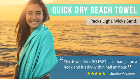 "32""x72"" Travel and Sport Towel"