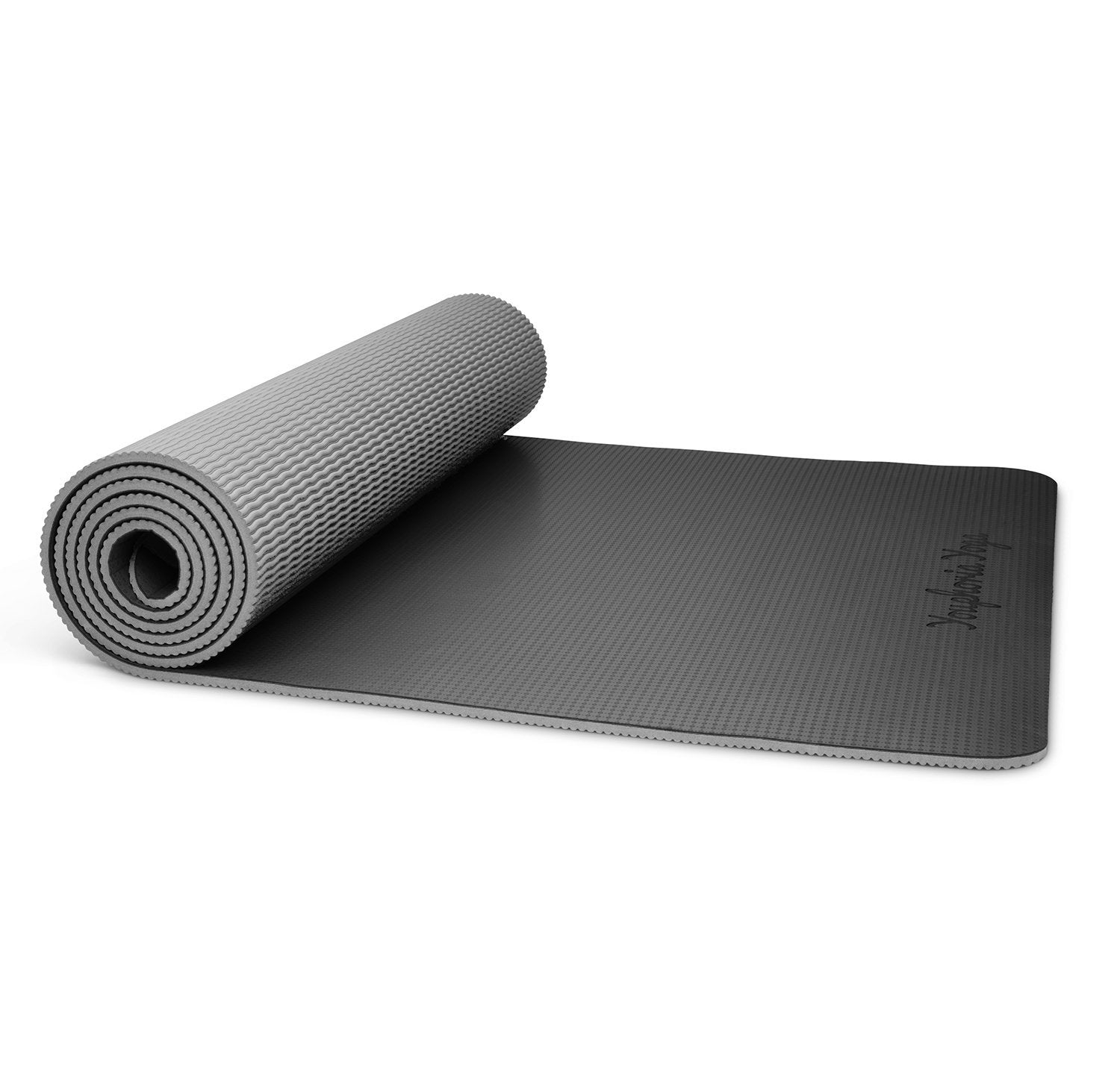 """Premi-OM"" Yoga Mat in Onyx"