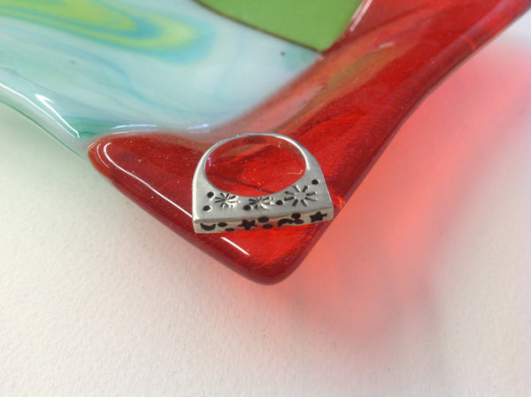Star Moon Silver Ring Nature Sterling Wiccan