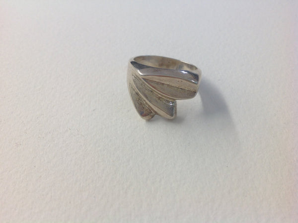 Sterling Silver Vintage Ring Sterling Ring Funky Ring