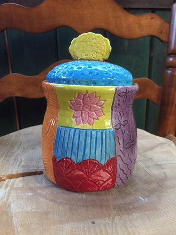 Keepsake Jar Birth Keepsake Marriage Wedding Keepsake Pottery Handmade