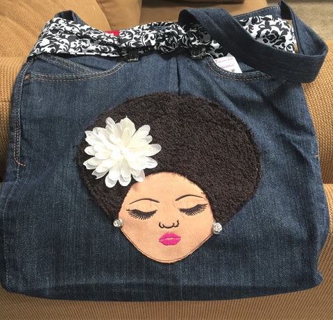 Big Hair Handbag- LRG