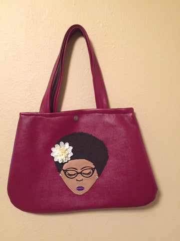 The Natural Beauty Handbag with Glasses