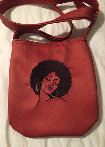 Large Afro Crossbody