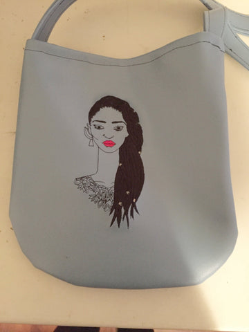 Dreadlocks Crossbody Bag