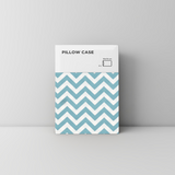 Powdery Blue Chevron