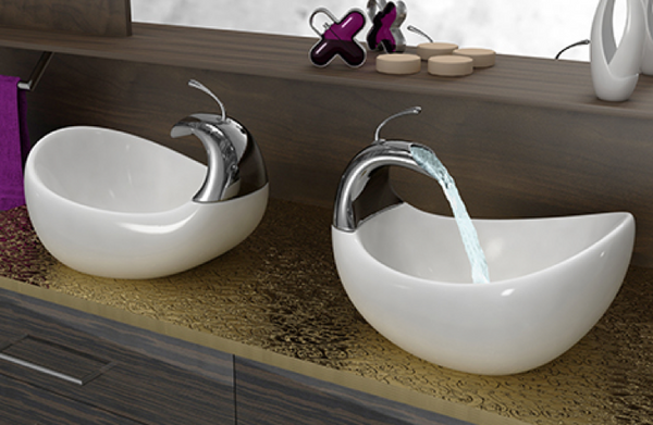 Double Vessel sink