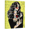 "Contemporary urban art gallery wrapped print on canvas ""A rose by any other name"" by Amy Smith 18x24"