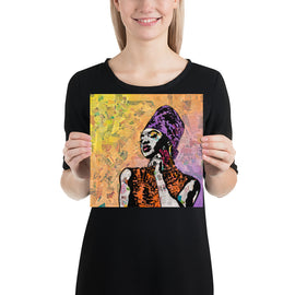"Contemporary urban art print ""Queen"" by Amy Smith"