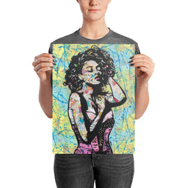 "Contemporary urban art print ""All I Need"" By Amy Smith"
