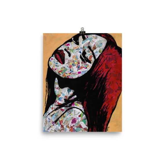 "Contemporary urban art print ""Bold"" by Amy Smith"