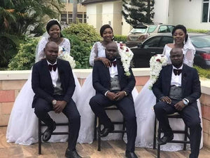 Triplets Brothers Marry Triplet Sisters in a Triple Wedding!