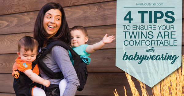 400fabf28d9 4 Tips to Ensure Your Twins are Comfortable while Babywearing - TwinGo