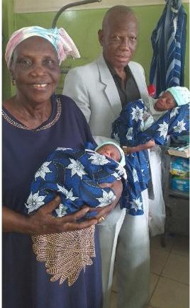 68 Year Old Mother Gives Birth To Twins!