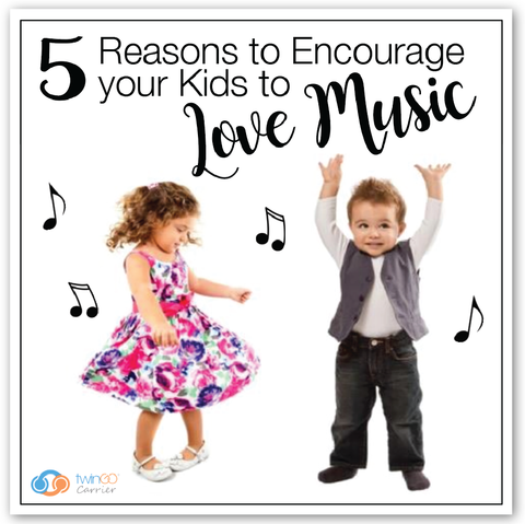 5 reasons to encourage your kids to love music