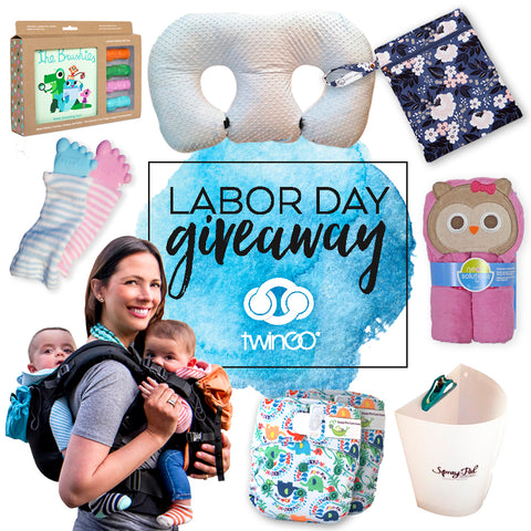 twin baby product giveaway on twin blog