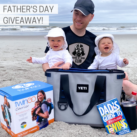 dad of twins TwinGo Carrier giveaway