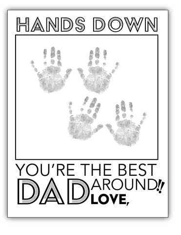 Fathers Day Card for dad of twins