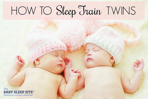 sleep train twins article on twin blog