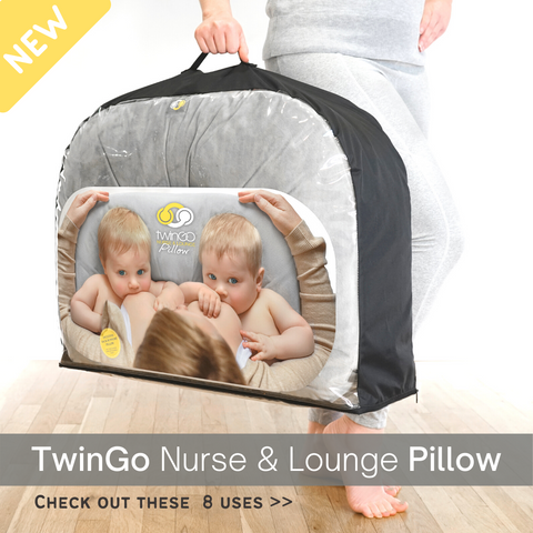 TwinGo Pillow New twin product for mom of twins